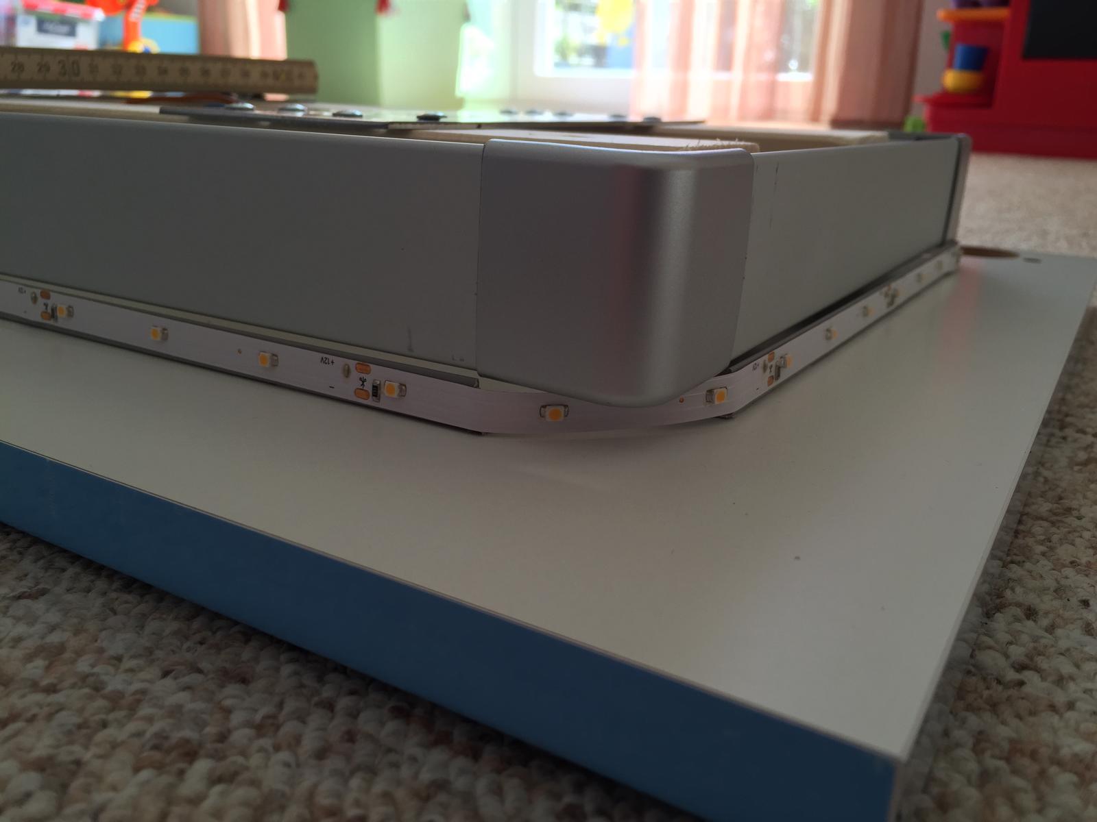 Deckenlampe selber bauen LED Strip – HAUSBAU38.de