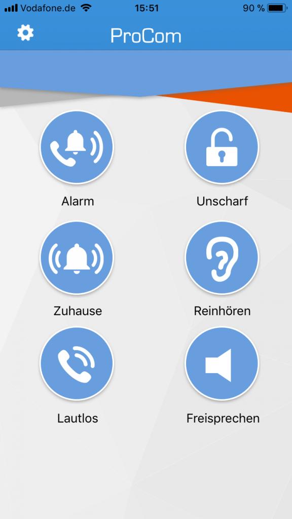 Olympia ProCom App iOS